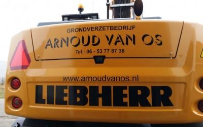 Nieuwe mobiele graafmachine Liebherr 914 in gebruik genomen